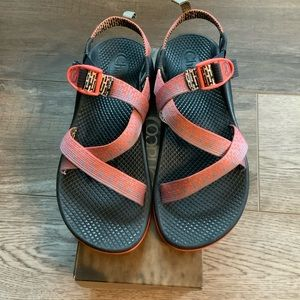 Chaco Z1 Ecotread Penny Coral Rose Size 6